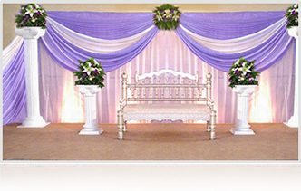 Embroidered Backdrop Wedding Embroidery BackdropWedding Backdrop Decorations Ahmedabad