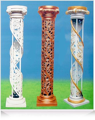 Wedding Pillar Decoration Mandap
